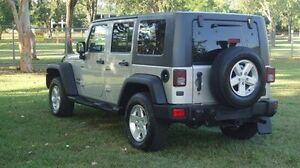 2007 Jeep Wrangler JK Unlimited Sport Silver 6 Speed Manual Softtop Winnellie Darwin City Preview
