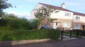 For Swap, Spacious end terraced 2 b/d house at Blairdardie/knightswood