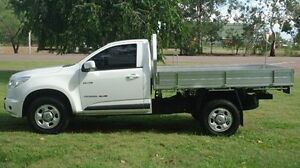 2012 Holden Colorado RG MY13 LX White 6 Speed Sports Automatic Cab Chassis Winnellie Darwin City Preview