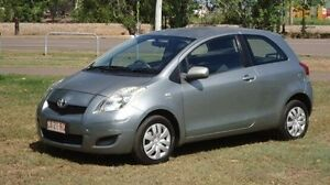 2009 Toyota Yaris NCP90R MY09 YR Silver 5 Speed Manual Hatchback Winnellie Darwin City Preview
