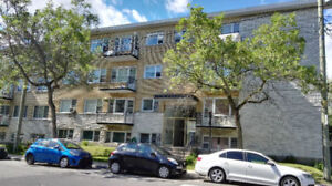 Near maisonneuve park,4 1/2 Includ heating,hot water