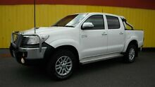 2012 Toyota Hilux KUN26R MY12 SR5 (4x4) White 4 Speed Automatic Dual Cab Pick-up Moorabbin Kingston Area Preview