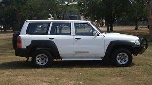2013 Nissan Patrol Y61 GU 8 DX White 4 Speed Automatic Wagon Winnellie Darwin City Preview