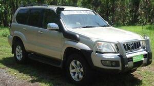 2008 Toyota Landcruiser Prado KDJ120R GXL Bronze 5 Speed Automatic Wagon Winnellie Darwin City Preview