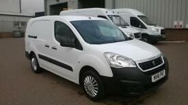 Peugeot Partner L2 715 S 1.6 92PS CREW VAN EURO 5 DIESEL MANUAL WHITE (2016)