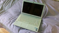 Sony Vaio i5 4G ram 297 GB HDD with win7, Office 2013 and more.