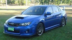 2012 Subaru Impreza G3 MY12 WRX STi AWD Spec R Blue 6 Speed Manual Sedan Winnellie Darwin City Preview