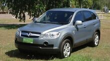 2009 Holden Captiva CG MY09.5 Grey 5 Speed Sports Automatic Wagon The Narrows Darwin City Preview