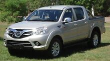 2015 Foton Tunland P201 Silver 5 Speed Manual Utility Winnellie Darwin City Preview
