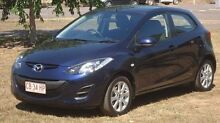2013 Mazda 2 DE10Y2 MY14 Neo Sport Blue 5 Speed Manual Hatchback Winnellie Darwin City Preview