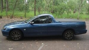 2001 Holden Ute VU S Blue 4 Speed Automatic Utility Winnellie Darwin City Preview