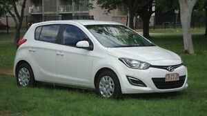2014 Hyundai i20 PB MY14 Active White 4 Speed Automatic Hatchback Winnellie Darwin City Preview