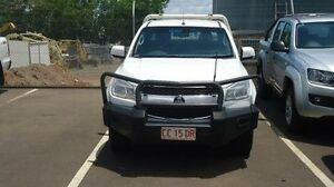 2013 Holden Colorado RG MY13 LT Crew Cab White 5 Speed Manual Utility Winnellie Darwin City Preview