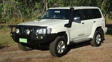 2013 Nissan Patrol Y61 GU 8 ST White 5 Speed Manual Wagon The Narrows Darwin City Preview