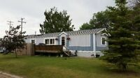 Modular Home in Tilley for rent /sale
