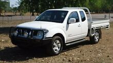 2010 Nissan Navara D40 ST-X King Cab White 6 Speed Manual Utility The Narrows Darwin City Preview