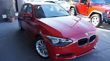 2014 BMW 118i F20 MY13 18i Crimson Red 8 Speed Automatic Hatchback Concord Canada Bay Area Preview