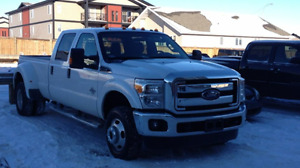 2014 Ford F-350 XLT Super Duty and Gooseneck trailer