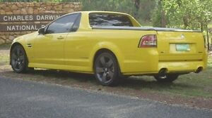 2011 Holden Ute VE II SV6 Yellow 6 Speed Manual Utility Winnellie Darwin City Preview