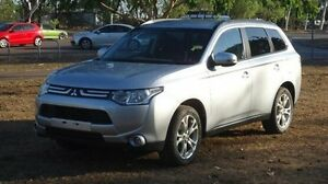 2014 Mitsubishi Outlander ZJ MY14.5 LS 4WD White 6 Speed Constant Variable Wagon Winnellie Darwin City Preview