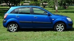 2009 Kia Rio JB MY09 LX Blue 5 Speed Manual Hatchback Winnellie Darwin City Preview