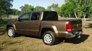 2012 Volkswagen Amarok 2H MY12 TDI400 4Mot Highline Brown 6 Speed Manual Utility Winnellie Darwin City Preview