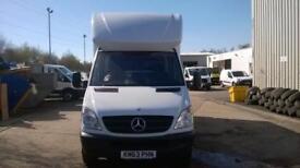 Mercedes-Benz Sprinter 313 CDI LWB LUTON EURO 5 DIESEL MANUAL WHITE (2013)