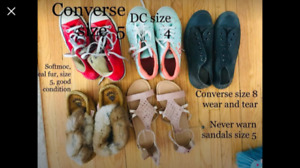 Shoes for Girl Size 4, 5 and 8