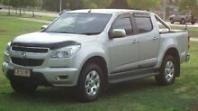 2014 Holden Colorado RG MY14 LTZ Crew Cab Silver 6 Speed Manual Utility The Narrows Darwin City Preview