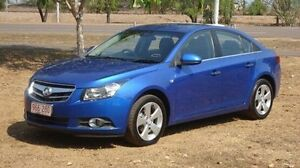 2010 Holden Cruze JG CDX Blue 5 Speed Manual Sedan Winnellie Darwin City Preview