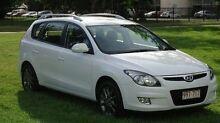 2011 Hyundai i30 FD MY11 SX cw Wagon White 4 Speed Automatic Wagon The Narrows Darwin City Preview