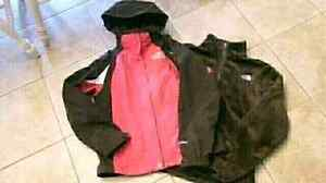 Womans NORTH Face winter jacket