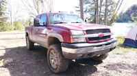 Lifted 2004 Chevy Z71 with @ yr warranty