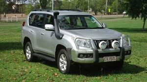 2011 Toyota Landcruiser Prado KDJ150R GXL Silver 5 Speed Sports Automatic Wagon Winnellie Darwin City Preview