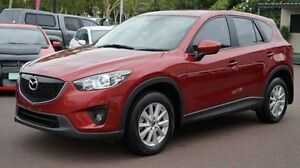 2012 Mazda CX-5 KE1071 Maxx SKYACTIV-Drive AWD Red 6 Speed Sports Automatic Wagon Winnellie Darwin City Preview