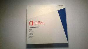 New Sealed Genuine Microsoft Office 2013 Pro DVD and Key Package