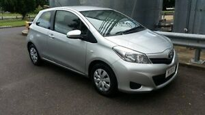 2014 Toyota Yaris NCP130R YR Silver 4 Speed Automatic Hatchback Bungalow Cairns City Preview