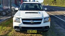 2009 Holden Colorado RC MY09 LX (4x2) White 5 Speed Manual Cab Chassis Taylors Beach Port Stephens Area Preview
