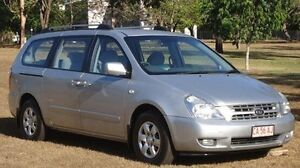 2008 Kia Grand Carnival VQ MY07 EX Silver 5 Speed Sports Automatic Wagon Winnellie Darwin City Preview