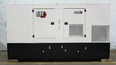 New Caterpillar 500 Kw Diesel Generator Cat C15 Engine Epa Tier 2 - Csdg 2644