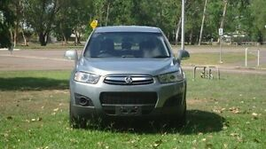 2013 Holden Captiva CG MY13 7 SX Silver 6 Speed Sports Automatic Wagon Winnellie Darwin City Preview