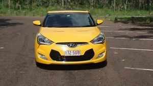 2012 Hyundai Veloster FS2 + Coupe Yellow 6 Speed Manual Hatchback Winnellie Darwin City Preview