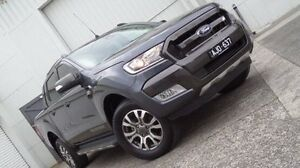 2015 Ford Ranger PX MkII Wildtrak Double Cab Grey 6 Speed Sports Automatic Utility Bundoora Banyule Area Preview