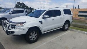 2013 Ford Ranger PX XLT Double Cab White 6 Speed Manual Utility Berwick Casey Area Preview