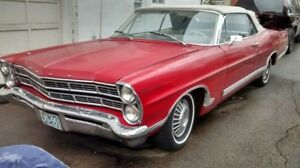 FORD GALAXIE 500 COUPE CONVERTIBLE