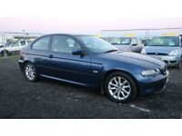 BMW 3 SERIES 1.8 316TI ES 3d 114 BHP - VIEW 360 SPIN ON WEBSI (blue) 2005