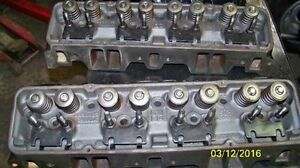 rare Chevy perf. small block M heads. Camel Hump 327-350hp