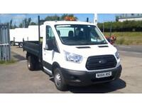 Ford Transit 350 L2 SINGLE CAB TIPPER 100PS EURO 5 DIESEL MANUAL WHITE (2014)