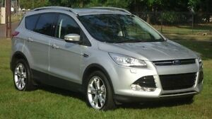 2014 Ford Kuga TF Titanium PwrShift AWD Silver 6 Speed Sports Automatic Dual Clutch Wagon Winnellie Darwin City Preview