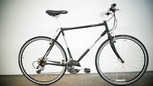NEW 2015 JAMIS CODA SPORT CHROMOLY HYBRID BICYCLE Silver or Black